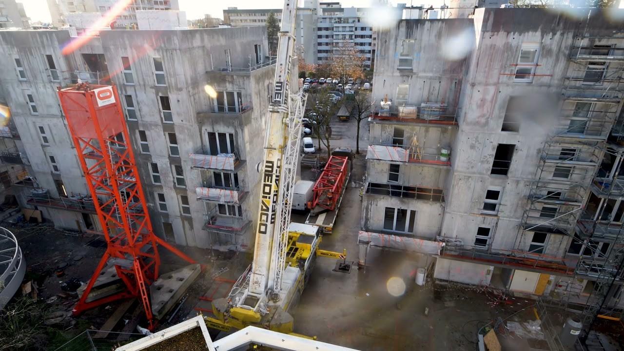 Construction d'un programme mixte dans le centre-ville d'Angers