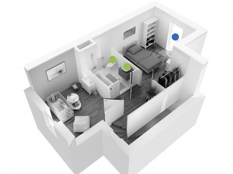 Perspective maison Cazalis 1