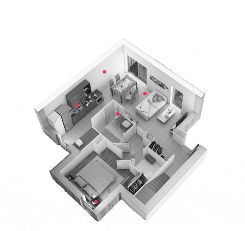 Perspective maison Cazalis
